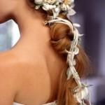 Acessório para noivas de cabelos compridos (Foto: divulgação)