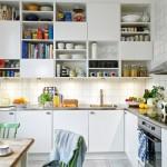 Armário de cozinha planejado apresenta os seus nichos visíveis. (Foto:Divulgação)