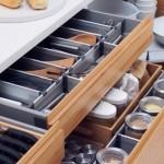 Divisórias modernas para gavetas de armários planejados. (Foto:Divulgação)