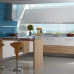 A cozinha com armário planejado adquire um visual mais limpo e funcional. (Foto:Divulgação)