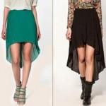 Este modelo de saia pode ser combinado às sandálias, botas, tênis, entre outros calçados. (Foto:Divulgação)
