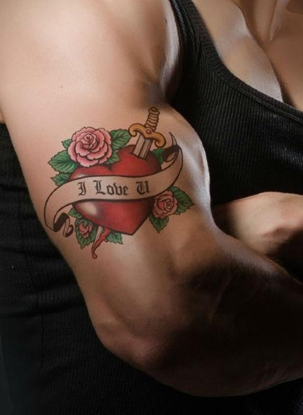 Tatuagem nos braços (Foto: Divulgação)