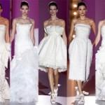 As pedrarias e brilhos em vestidos de noiva fazem parte da moda para as próximas estações. (Foto:divulgação)
