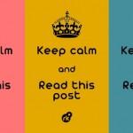 Fique calmo e leia esse post. (Foto: divulgação)