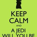 Fique calmo e um Jedi será você. (Foto: divulgação)