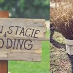 Os detalhes são importantes na decoração de casamento rústico. (Foto:Divulgação)