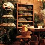 Objetos artesanais e móveis antigos são valorizados pela decoração rústica. (Foto:Divulgação)