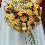 Flores amarelas são muito comuns em casamentos (Foto: Divulgação)