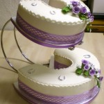 Esse bolo possui um formato diferente (Foto: Divulgação)