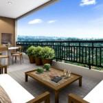 Projeto mais sofisticado para decorar terraço. (Foto:Divulgação)