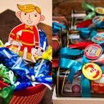 Brinquedos como lembrancinha do aniversário infantil de menino. (Foto:Divulgação)
