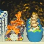 Doces com embalagens personalizadas também servem como lembrancinhas. (Foto:Divulgação)