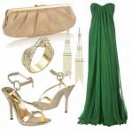 Os acessórios mais brilhantes são os mais indicados para serem usados com vestidos de festa (Foto: divulgação).