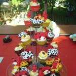 Torre de cupcakes. (Foto:Divulgação)