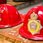Chapéus de bombeiro para distribuir aos convidados. (Foto:Divulgação)
