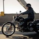 A Black Line é outro destaque da linha Dark Custom da Harley-Davidson (Foto: Divulgação)