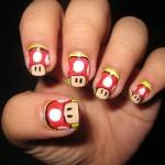 Mario Bros nas suas unhas. (Foto:Divulgação)