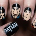Ilustrações dos Beatles nas unhas. (Foto:Divulgação)