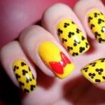 As unhas foram decoradas inspiradas na Disney. (Foto:Divulgação)