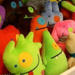 Toy art de pelúcia. (Foto:Divulgação)