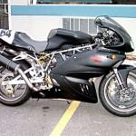 Algumas pessoas optam por alterar apenas uma parte das motos (Foto: Divulgação)