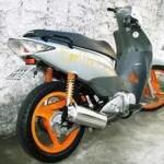 Até as motos mais simples podem ser tunadas (Foto: Divulgação)
