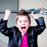 O aniversariante se transformou em um 'Rock Star'. (Foto:Decoração)