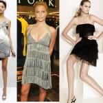 É necessário tomar cuidado na escolha da roupa com franja para não sobrecarregar o visual (Foto: divulgação).