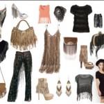 As franjas podem ser usadas em roupas e também em acessórios. (Foto: divulgação)