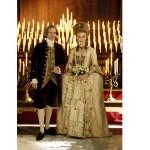 Em A Duquesa, Keira Knightley usou um luxuoso vestido de noiva. (Foto: divulgação)