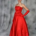 Um poderoso vestido vermelho. (Foto:Divulgação)