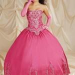 Vestido pink de 15 anos. (Foto:Divulgação)