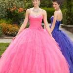 Dois glamorosos vestidos de debutante. (Foto:Divulgação)