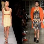 A combinação dos conjuntos estarão presentes também na moda masculina para o próximo verão (Foto: divulgação).