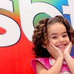 Aos 5 anos de idade, Maisa já era apresentadora do SBT (Foto: Divulgação)