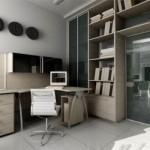 Um escritório básico, charmoso e bonito. (Foto:Divulgação)