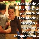 A fidelidade é uma prova de amor. (Foto:Divulgação)