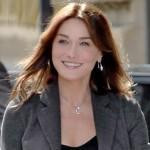 Casada com o ex-presidente francês, Nicolas Sarkozy, Carla Bruni é considerada uma das mais belas do mundo. Também é atriz e cantora. (Foto: Divulgação)