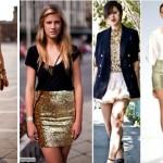 O ideal é combinar as roupas douradas com outras peças de cores neutras (Foto: divulgação).