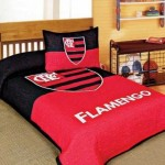 A roupa de cama do time de futebol. (Foto:Divulgação)