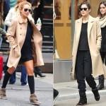 Lindsay Lohan também aderiu ao calçado do momento. (Foto:Divulgação)