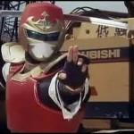 O Ninja Jiraya não tinha superpoderes, mas usava antigas técnicas japonesas no combate ao crime (Foto: Divulgação)