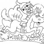 O saci é um personagem que vive fazendo travessuras. (Foto:Divulgação)