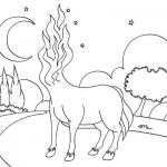 A mula sem cabeça também assombra o imaginário popular.  (Foto:Divulgação)