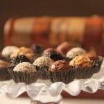 Os brigadeiros gourmet são bonitos e saborosos. (Foto:Divulgação)
