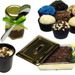 Os brigadeiros gourmet contam com vários tipos de embalagens. (Foto:Divulgação)