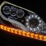 Luzes de xênon e lâmpadas de LED nos faróis (Foto: Divulgação)
