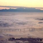 Escondida no meio da neblina (Foto: Divulgação)