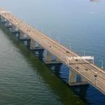 Atualmente, quem administra a ponte é a concessionária CCR Ponte (Foto: Divulgação)