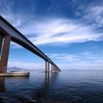 A Ponte Rio-Niterói faz parte da BR 101 (Foto: Divulgação)
